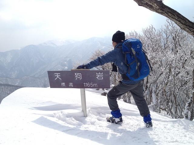 藤原岳 天狗岩 イグニオ