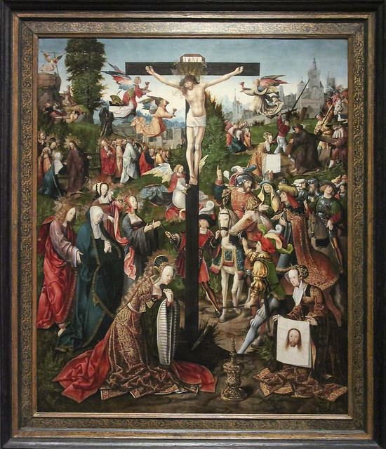 The Crucifixion, c.1475-1533, Jacob Cornelisz van Oostsanen