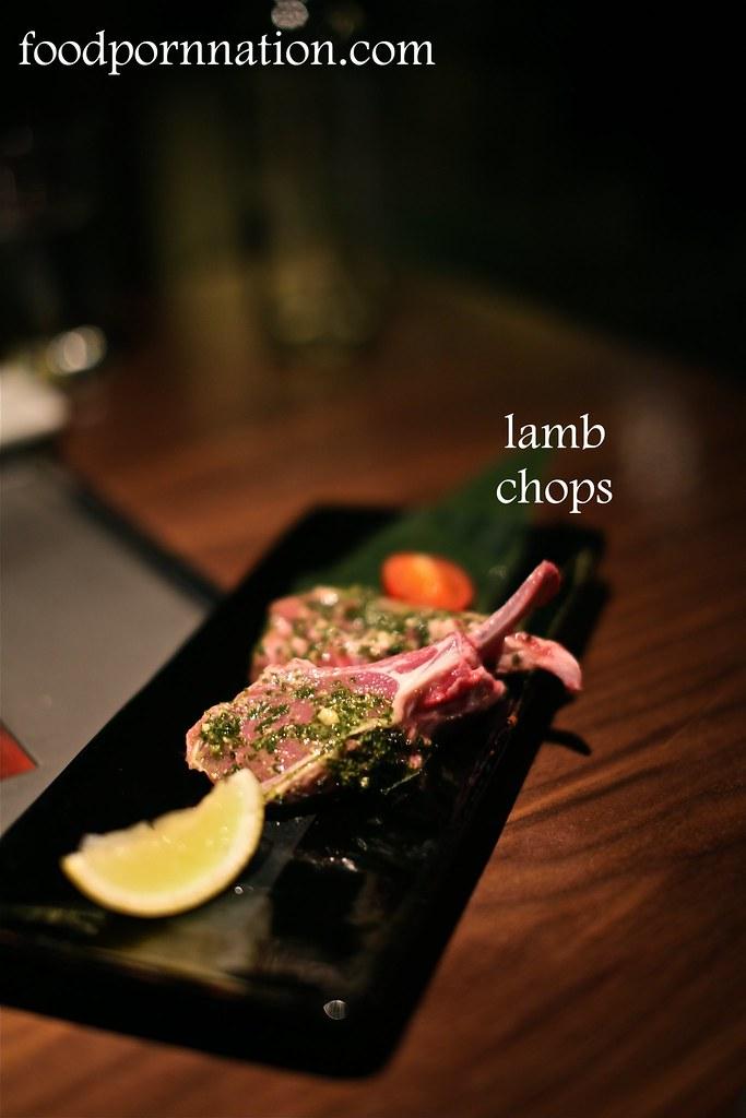 NZ lamb chops - Kintan, Holborn