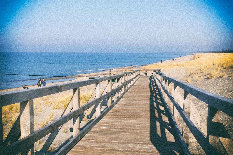 Am Strand von Ahrenshoop