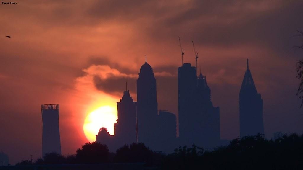 Dubai Sunset - From Arabian Ranches