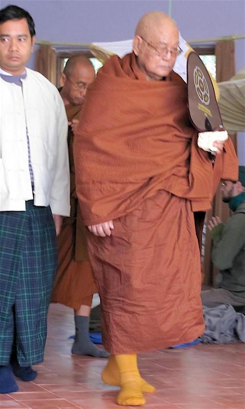 Sayadaw U Pandita in Lumbini