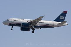 N816AW A319 US Airways