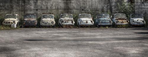 Fiat500 Graveyard