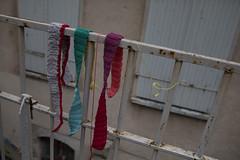 Yarn bombing Besançon 37