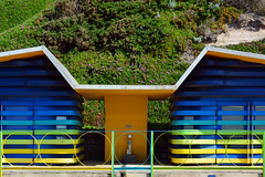 Accessible Beach Huts / exterior detail