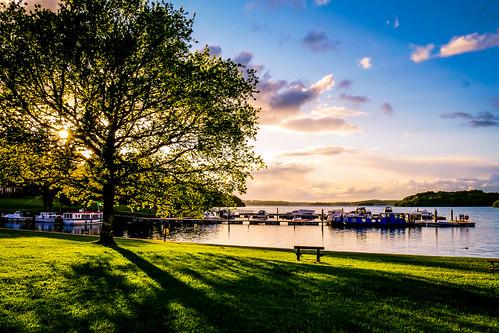 park ireland sunset lake forest marina boats key lough harbour may shannon cruiser boyle roscommon 2016