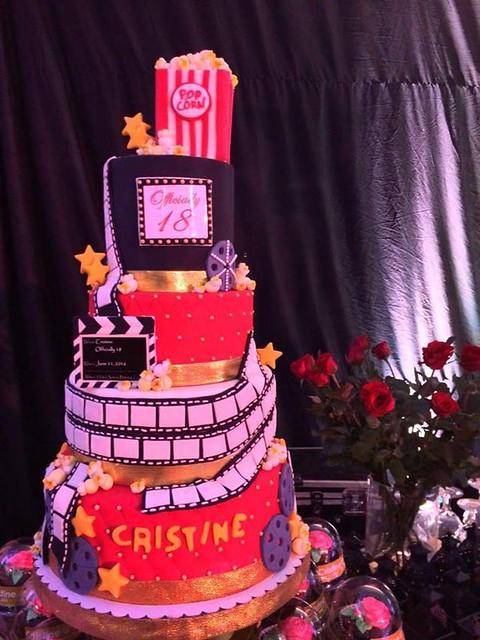 Hollywood Themed Debut Cake by Valdez Amir