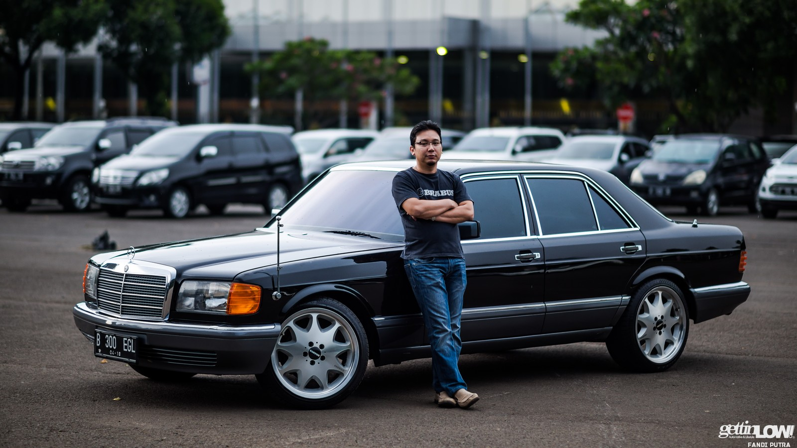 Gettinlow Indra Sukarno Mercedes Benz W126 1990
