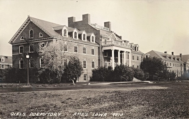 Ames, Iowa, Iowa State College, Barton Hall