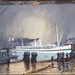 """Departure of the Hospital Ship """"Maheno"""", 1915 by Archives New Zealand"""