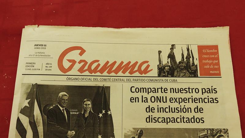 Granma newspaper