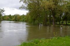Mai 2013 - Débordement de la Seine à Marnay sur Seine (Aube)