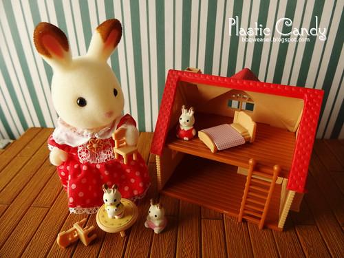 Choco bunny playtime