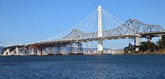 sea, landmark, truss bridge, cantilever bridge, bridge, cable-stayed bridge,