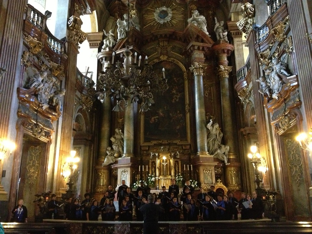 Hendricks Chapel Choir performs in University Church in Wroclaw