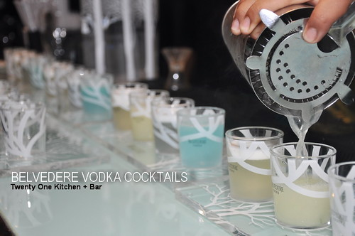 BELVEDERE VODKA COCKTAILS 1