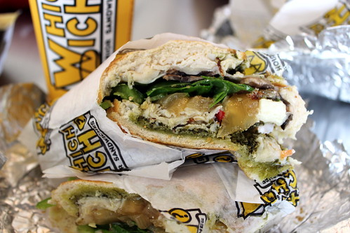 Lunch at WhichWich