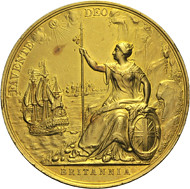 Treaty of Breda medal reverse