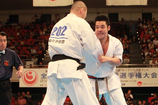 新極真会 第30回全日本ウエイト制空手道選手権大会