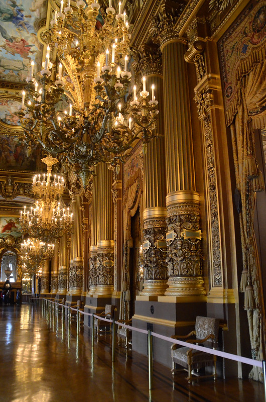 Grand Foyer Du Palais Garnier : Paris and beyond palais garnier the grand foyer