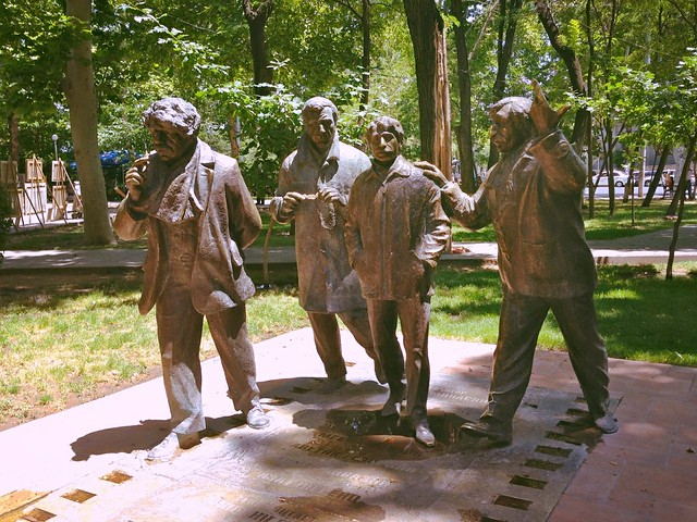 The Men - sculpture, Yerevan