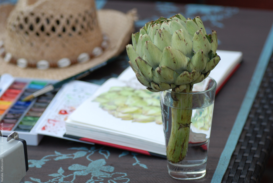 My love: artichokes