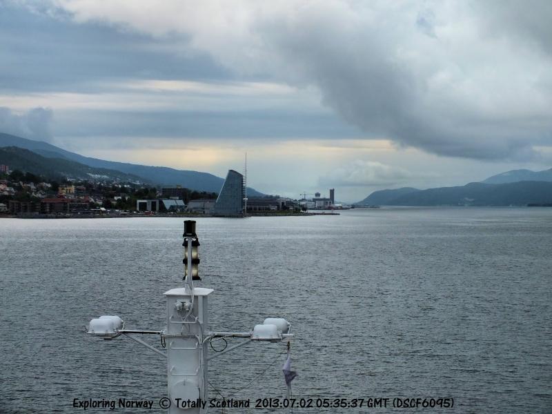 Marco Polo arriving Molde