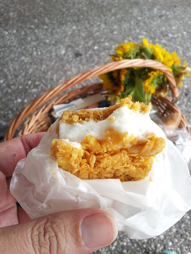 Milk & Honey & Cornflake Ice Cream Sandwich from Milk Cult