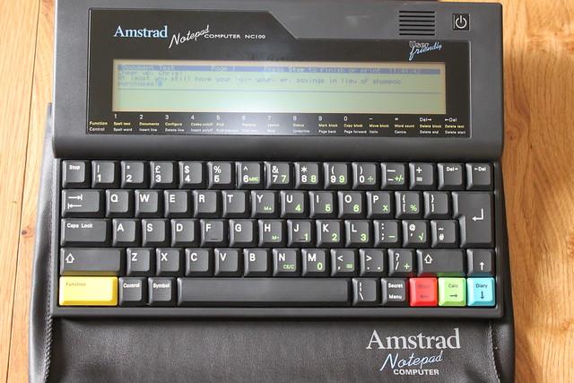 Amstrad Notepad Computer NC100