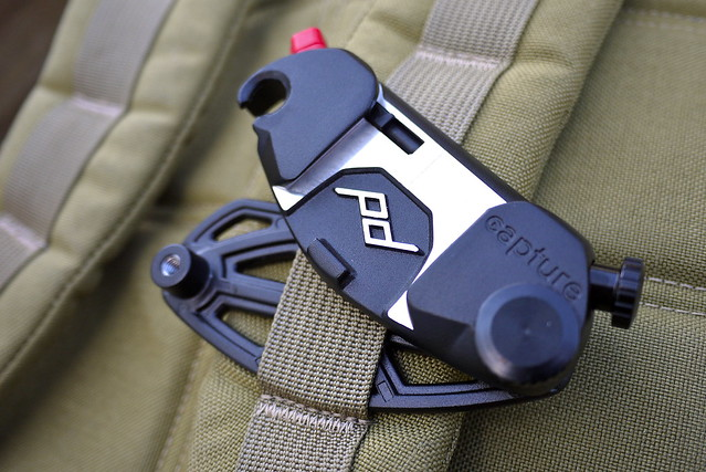 Capture Camera Clip v2 on GORUCK MOLLE