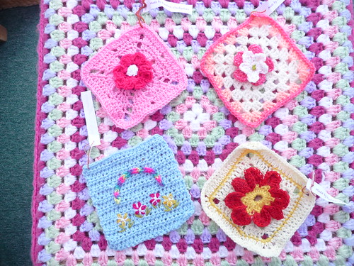'creativegranny' thank you! Squares for 'What a Wonderful World!'