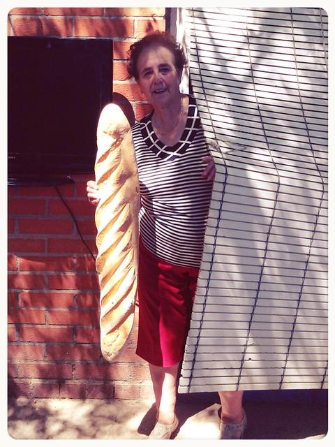 Barra pan enorme