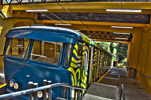 Tibidabo Funicular. Barcelona. Spain