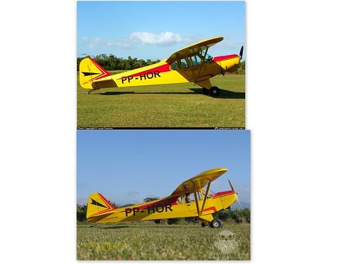 Repaginação de um Piper J-3 para um Neiva P56 C Paulistinha  9546893318_21f45c8674