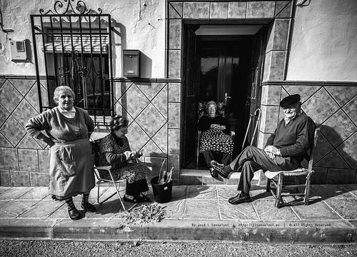 Imagen costumbrista en Molino San Rafael. by Sansa - Factor Humano