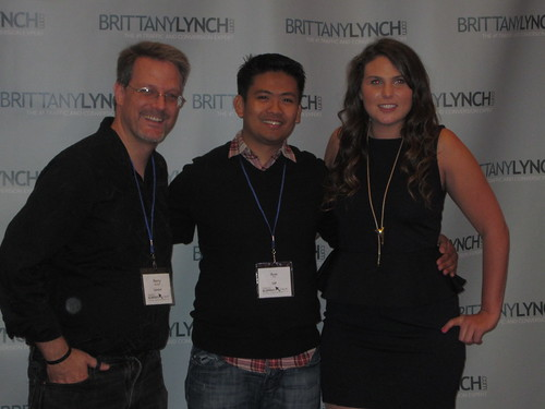 Perry Marshall, Ryan Cruz  and Brittany Lynch