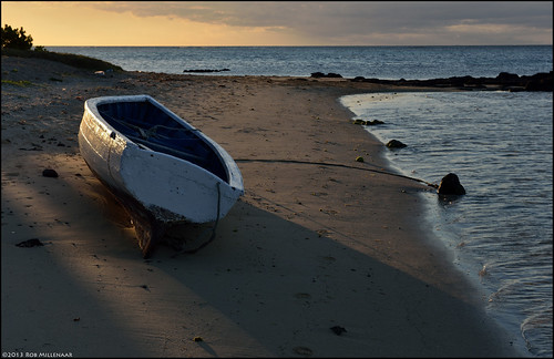sunset landscape scenery mauritius