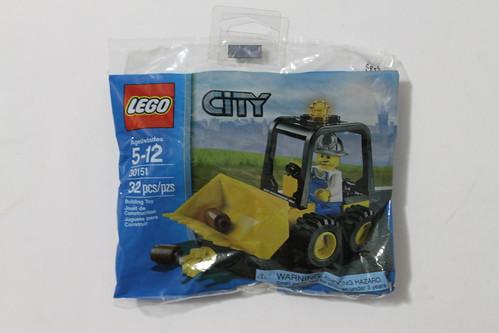 LEGO City Mining Dozer Polybag (30151)