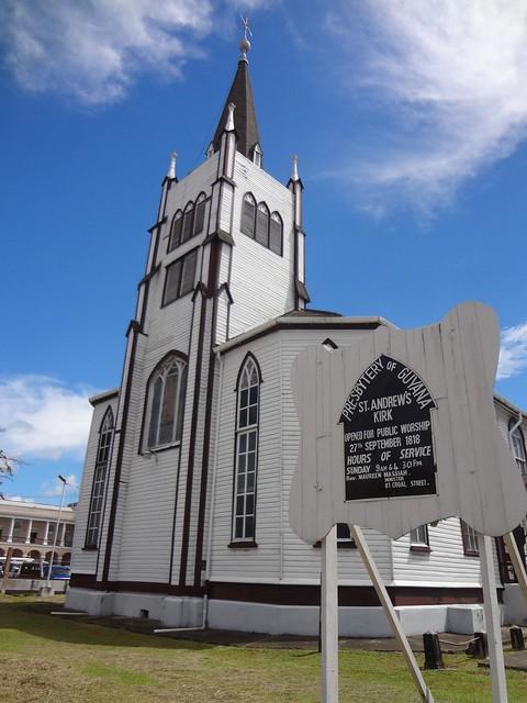 Igreja St. Andrew's Kirk em Georgetown