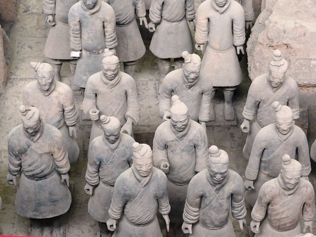 Terracotta Warriors, Xian, China by CC user travelourplanet on Flickr