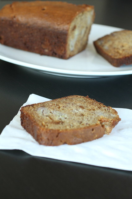 White Chocolate Banana Bread