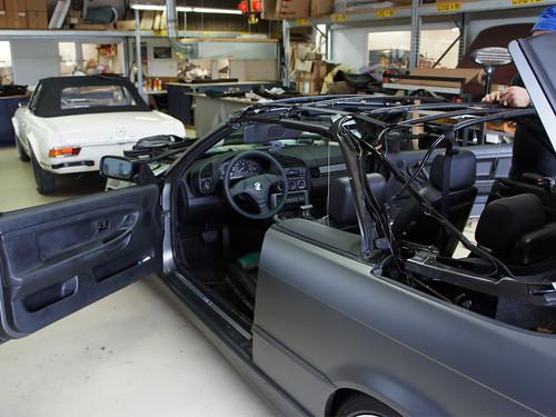 ck cabrio manufaktur f r cabrioverdecke bmw 3er e36 2c. Black Bedroom Furniture Sets. Home Design Ideas