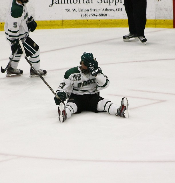 Ohio University Defenseman Paul Sergi