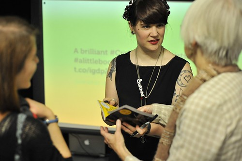 #ALittleBookOfCraftivism book launch 2nd October 2013
