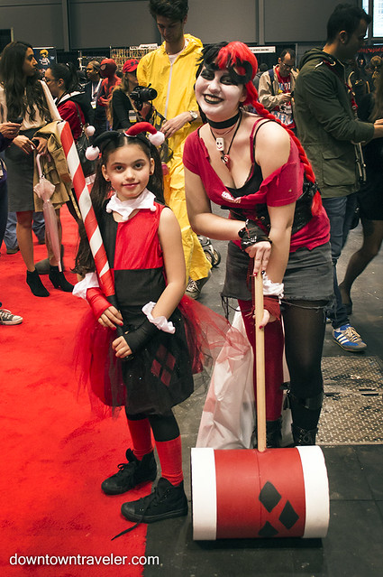 NY Comic Con Girls Costume Harley Quinn