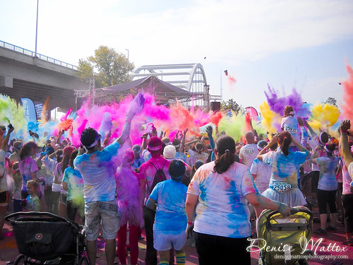 Nashville Fall Color Run