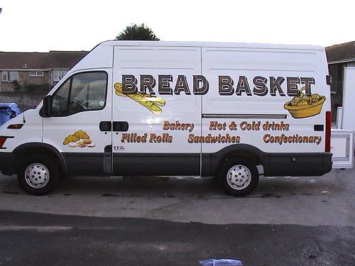 Bakery Catering Van