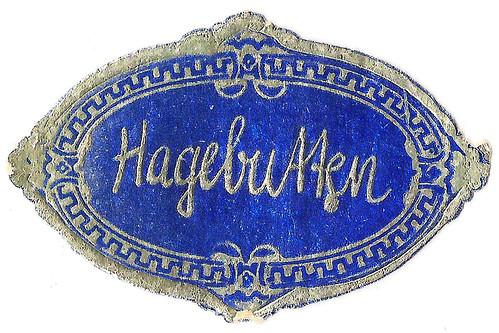 Hagebutte Hagebutten Rosengewächs heimische Beere Ethnobotanik Hagebuttengelee Hagebuttenmarmelade Etikett Aufkleber blau