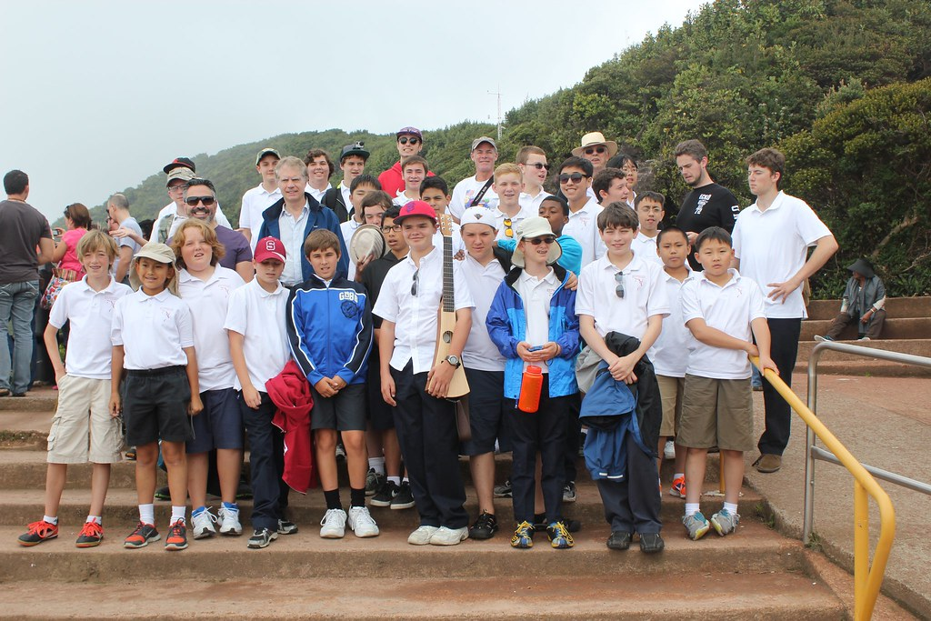 The San Francisco Boys Chorus at Poas Volcano